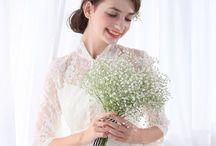 WeddingDress / ガーデンに合うナチュラルなチュールドレス⚮̈ .゜チャペルに映える王道ロングトレーンドレス✩*.゚ 豊富なラインナップをご用意しております◡̈♥︎