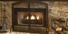 Fireplace Accessories / Dress up your fireplace with accessories.  Everything needs accessorized!