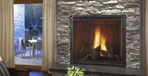 Stone Fireplaces / Gorgeous Stone Fireplaces make the room more inviting!