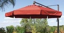 I Need Shade / Need shade?  No problem,  add a colorful umbrella to your patio.