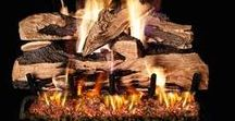 Vented Gaslogs / Modern advancements have made gas logs appear very realistic. Today's designs must be studied closely to determine that they are not real. Gas logs are an easy way to create a cozy environment without the cleaning and maintenance of a wood fire.