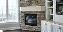 Corner fireplaces / Have a corner?  Add a fireplace!