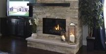 Fireplaces Are The Focus / Very cool fireplaces!