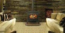 Wood Stoves / New efficient burning wood stoves are perfect for homes that need heat and ambiance!