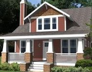 19 Incredible Craftsman Home Plans / original plans by homeppaterns