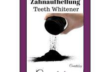 Teeth Whitening Products - Zahnaufhellung - Naturkosmetik / Neuheiten aus der Naturkosmetik für strahlend weiße Zähne. BIO Kosmetik Natural Cosmetic  #zahnaufheller #beauty Zähne reinigen Zahnreinigung whiteteeth #mouth Zähne aufhellen Glow Teeth