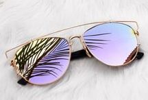 s u n g l a s s e s & s w i m w e a r / pretty sunglasses and bathingsuits