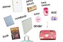 Back To School Stuff (Ideas,DIYs,Tips,Hacks)