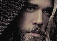 Raw masculine charisma / An awakened man is a warrior of the heart.