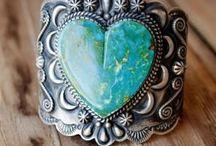 Love of gemstones.