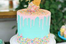 Birthday cake ideas / ~Amazing cake ideas~