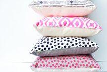 Pillows / by Megan Pinkerton