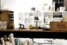 Creative Space/Home Office Inspiration / by A Gibson