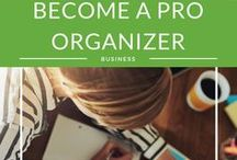 Become a PRO Organizer / You need more than a love for organizing to create and run a successful organizing business.  professional organizer, personal organizer, how to become a professional organizer, professional organizer training, professional organizer course, becoming a professional organizer, website professional organizer, professional organizer rates.