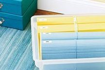 Organizing | Paper / Transforming Piles into Smiles! #organizing #paperorganizing #organization #paperorganization / by Helena Alkhas
