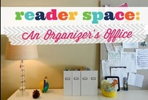 The Home Office / All that makes life in our offices and home offices easier and beautiful! www.apersonalorganizer.com / by Helena Alkhas