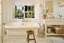 Bathrooms / Bathrooms are very busy spaces and they need to pack a lot! From toiletries, hair styling and nail polish to loads of towels all lives in here. Check ideas for great bathroom organizing and stylish spaces in one of my favorite boards! What's your favorite tip? / by Helena Alkhas