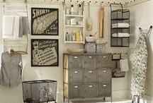 Laundry Rooms & Organizing / Organizing the laundry area can make the weekly chore of laundry more pleasant and more productive.  / by Helena Alkhas @ A Personal Organizer