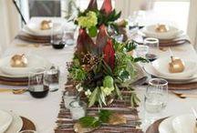 Decorate | Table Settings / Take your Seat!  Beautiful Table Settings - Dinning Fun.