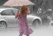 RAINdrops Keep Falling on My Head / ` / by Lippa Lulu