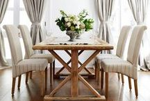 Decorate | Dining Room / Beautiful spaces to share laugh, good food and create wonderful memories!