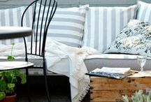 Organizing | Outdoor Spaces / Ideas and inspiration for outdoor living spaces. / by Helena Alkhas