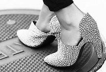 Heels / Mixture of heels/flats/boots