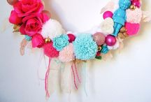 Craft Love - WREATHS / by Let's Wear Dresses