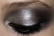 Beauty, Nails, & Pixie Cuts / Eyes, lips, skin, nails, short hair.
