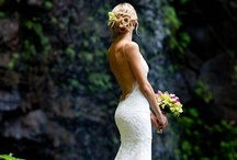 White Dresses / There are some many beautiful wedding dresses, here are just a few I love.