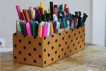 Organizing Ideas | Teachers / From the drawers to the classrooms, teachers are super organized! / by Helena Alkhas