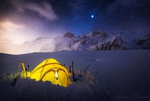 Paradise Hotel / Five billion stars hotel, Mountain Camp, Bivouac, Milky Way, Chambre avec vue  / by Vincent Dumaine
