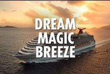 Dream Class Ships / Our Fun Ship 2.0 flagships. With room for over 3,600 onboard, you can be sure there's something for everyone on any of the Dream Class ships, which include Carnival Dream, Carnival Magic and Carnival Breeze. Find your fun below. And check out more features at carnival.com/cruise-ships.   Hashtags denote which ships have the pinned features.    Repin our posts to assemble your own dream vacation. / by Carnival Cruise Lines