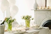 Holidays | New Year's Celebration / New Year's Celebration decor ideas foods, recipes.