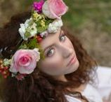Photoshooting / Wedditorial Spring-Summer '14 Our proposal for bridal makeup Inspiration: Boho-Earth Makeup:  Lida T. & Lida's Secrets