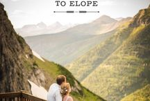 Glacier National Park Wedding / Getting married in Glacier National Park? Check out this board for inspiration! And if you're looking for a photographer, check out my website www.mariannewiest.com