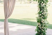 Ceremony Backdrops | Wedding Venue Decorations / Transform your wedding ceremony space with a fabulous backdrop.