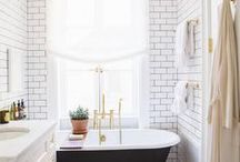 B a t h / Bathroom ideas for small spaces.