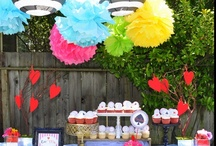 Alice in Wonderland: Mad Hatter Tea Party / Marleau's 1st Birthday Party