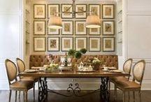 D i n i n g R o o m / Dining room ideas.
