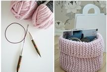 Knitting, crocheting and sweet things