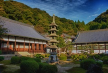 Kōshō-ji Temple inUji, Kyoto! / Reestablished in 1648, Kōshō-ji Temple Temple, with its white Chinese-style gate, reflects the solemn atmosphere of the ZEN sect. The slope between the riverside and the temple is called KOTOZAKA. Here you can enjoy the tinted autumnal leaves.  In 1233, after his return from his study mission to China, Dogen Zenji founded the Koshoji, the first Sōtō temple in Fukakusa, just south of the ancient capital Kyoto.