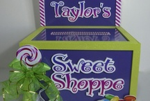 Gift Card Money Boxes for Parties / Unique and one of a kind Gift Card Boxes for events and parties