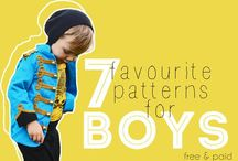• sewing for boys • / Free patterns and tutorials for boys  / by Max California