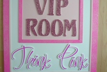 Pretty in Pink / Party designs for a girly girl of any age or a princess themed party