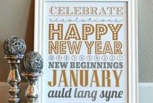 Happy New Year!  / Ring in the New Year with some of these fun ideas. #happynewyear