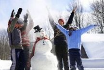 Snow Day / Fun ideas and activities to do in the snow. Bundle up! #snow