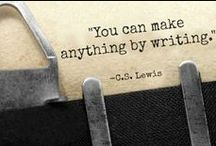 Quotes for Authors / Inspiration for established and new writers.