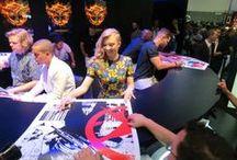 Comic-Con 2014 / Revisit the highlights of #TheHungerGames: #Mockingjay Part 1 at San Diego Comic-Con International 2014! #MockingjaySDCC #SDCC