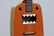 Unique Ukes / How cool can you make a ukulele? Here are a collection of creative and cool ukuleles and more. / by ukuleletshirtcompany